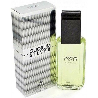 Quorum Silver Edt 100ml Caballero